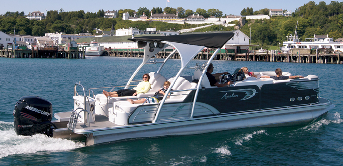 Tom S Boat Shop Inventory Of Avalon Pontoon Boats